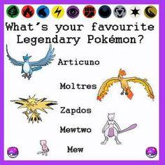 Legendary pokemon Top List, Pokemon, Collection