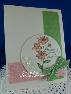 CC365 & SC375~Sending Sympathy & Prayers by WeeBeeStampin - Cards and Paper Crafts at Splitcoaststampers