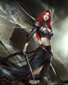 Red hair by TheRafa