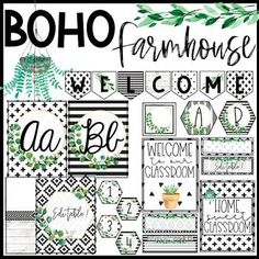 Transform your classroom to be a home away from home with this on-trend Boho Farmhouse Classroom Decor Bundle! I know you don't want to change your decor every year and this timeless packet has ev Classroom Jobs, Classroom Setting, Classroom Setup, Classroom Design, Future Classroom, Classroom Organization, Classroom Displays, Modern Classroom, Primary Classroom