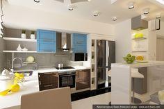 Проект планировки 3 комнатной квартиры в Екатеринбурге