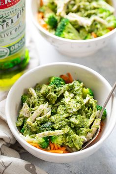 Healthy Diet Pesto Chicken with Broccoli and Sweet Potato Noodles {Paleo, - This paleo pesto chicken with broccoli and sweet potato noodles is packed with flavor and super simple to prepare. It's perfect for weeknight dinners and date nights alike! Pesto Chicken, Chicken Broccoli, Brocolli, Paleo Whole 30, Whole 30 Recipes, Paleo Running Momma, Paleo Pesto, Clean Eating, Healthy Eating