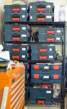 Bosch L-Boxx Tool Organization