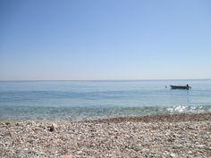 Beach Kokkari, Samos, Greece