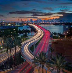 Miami from Miami Beach by frank_delargy via http://ift.tt/2uvwYvP