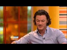 Luke Evans at Daybreak 27.03.14 by chocolover73