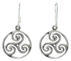 Good Luck Symbol Circle Wave Tracery Drop Dangle Earrings... https://www.amazon.com/dp/B01I97AZPU/ref=cm_sw_r_pi_dp_x_psaEzbQFPKH5M