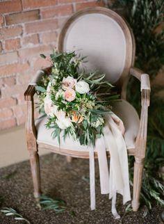 stunning wedding bouquet; photo: Almond Leaf Studios