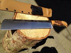 Show me your custom camp knife/chopper. - Page 63