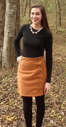 Lara's Arielle skirt - sewing pattern by Tilly and the Buttons