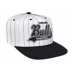 Pin Stripe SnapbackChicago Bulls Snap Backs e4b49a73953