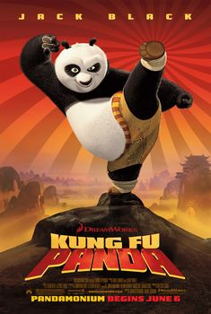 Greatest Movie Posters   KUNG FU PANDA   Film Reviews