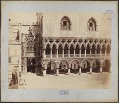 The Doge's Palace, Venice, 19th century