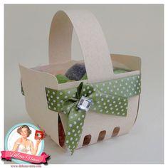 FREE DIY 3D cut files studio PDF strawberry berry basket box