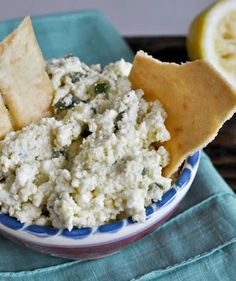 this CRAZY FETA dip doesn't seem like much, but it's a complete flavor explosion. I like it best as a dip, but you can spread it on sandwiches, pizza or even use it in salads! I howsweeteats.com