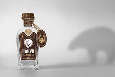 nanook vodka design packaging