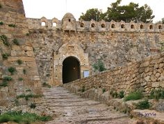 Venetian fortress Crete, Old Town, Venetian, Destinations, Beautiful, Old City, Travel Destinations, Travel