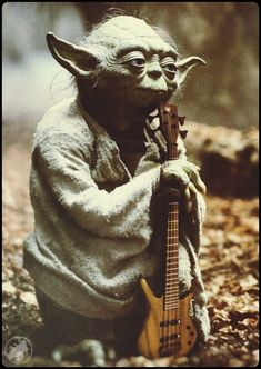 Groove then slap, you must.