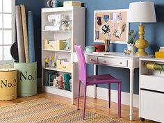 We teamed up with Joss & Main's style director to share some seriously sweet ideas for creating a DIY home office space.