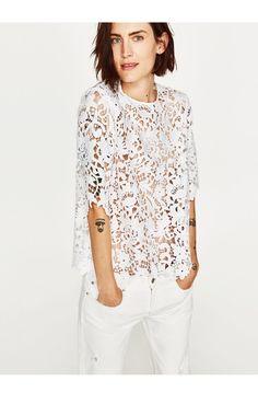 #zara#summer#lace