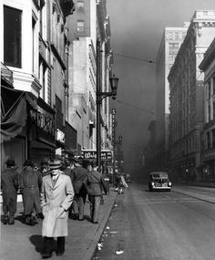 air pollution smoke Louisville Kentucky KY history politics | Sarah Lynn Cunningham
