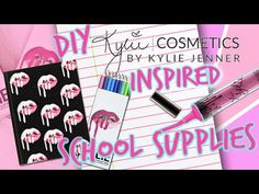 Easy & Cheap DIY School Supplies! You NEED to try!│Mawizaaable - YouTube