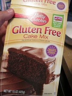 How to make a gluten free cake mix tastes better. Results: deliciously moist cake! ~Boitty