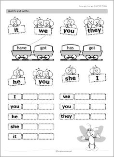 Printable worksheets for kids learning English to introduce, practise and revise basic grammar rules, plus ESL teachers' resources to use in English classes. English Grammar For Kids, Basic Grammar, Good Grammar, Teaching English Grammar, English Worksheets For Kids, English Verbs, Kids English, English Lessons, Learn English