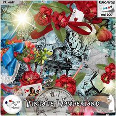 mini kit vintage wonderland de kittyscrap
