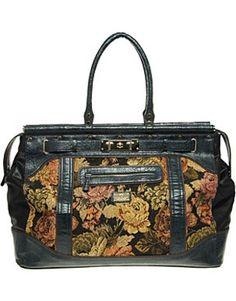 Large Tapestry Weekender Bag Earthtone Kilim Overnight by TaTonYon ...