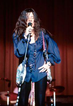 Janis Joplin With Clive Davis - Classic Photos of Janis Joplin