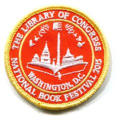 2015 National Book Festival Scout Patch – Library of Congress Shop