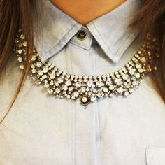Princess necklace ~ ModeMusthaves