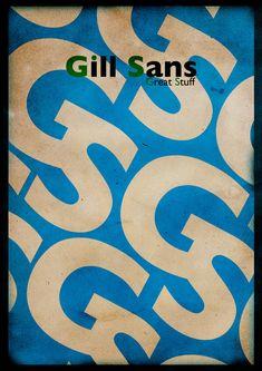 Gill Sans within a Gill Sans.