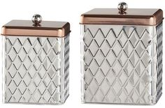 Global Amici Madagascar 2-pc. Kitchen Canister Set