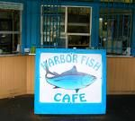 Harbor Fish Cafe in Carlsbad, California. Right on the beach and great fish. You can't go wrong.