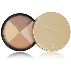 Jane Iredale Bronzer Quad - MoonGlow featuring polyvore, beauty products, makeup, cheek makeup, cheek bronzer and jane iredale