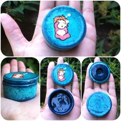 Small Ponyo Box Perfect for earrings and rings Check out my etsy! I make a lot of fandom pieces and I do commission work :) https://www.etsy.com/shop/tortugapalooza