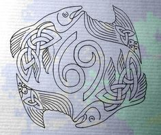Really thinking of getting this as a tattoo with some slight adjustment to the symbol in the middle of the fish. ;)
