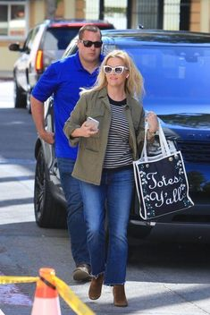 Reese Witherspoon Heading To A Meeting Beverly Hills March 27 2018 | Star Style