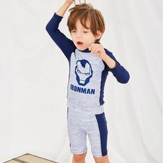 106b49314f Children's Swimwear Baby Boy Rash Guard Kids Children Bathing Suit For  Swimsuit New Swimming 2019 Boys Babies Split Surfing Wear [orc32963248103]  - $51.33