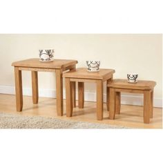 Papaya-Trading Shrewsbury Nest of Tables from £149.99 with FREE delivery!