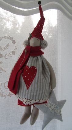 Christmas Sewing, Christmas Crafts, Christmas Decorations, Christmas Ornaments, Holiday Decor, Home Crafts, Diy And Crafts, Reno, Soft Dolls