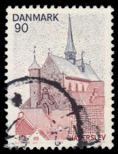 "DENMARK 577 (Mi599) - Architecture ""Haderslev Cathedral"" (pf68292)"