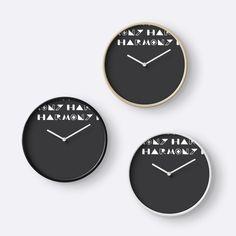 Harmony | Handlettering #10 Clocks #didikasa Clocks, I Shop, Stuff To Buy, Home Decor, Decoration Home, Room Decor, Watches, Clock