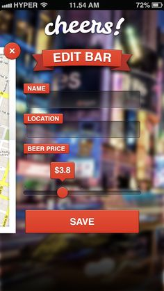 Cheers, beer price app