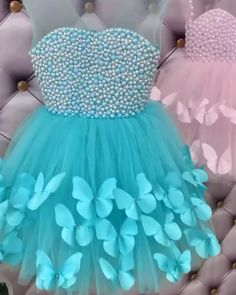 Baby Girl Dresses Fancy, Baby Dress, Girls Dresses, Cutwork Blouse Designs, Fancy Blouse Designs, Baby Clothes Sizes, Diy Clothes, Frock Photos, Kids Dress Patterns