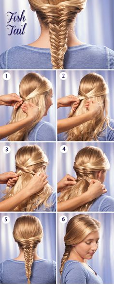 8 Best How To Make A Fishtail Braid Images Plaits Hairstyles