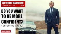 Here are 4 effective tips to be more self confident and stroner in every meeting, negoation, presentation in business and private. Marketing News, Direct Selling, Net Worth, Confident, Presentation, Self, Channel, University, Tv