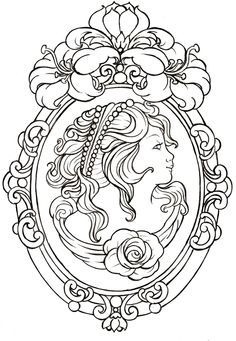 Cameo Tattoo By Metacharisdeviantart On DeviantART